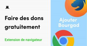 bourgad join use free donation extension