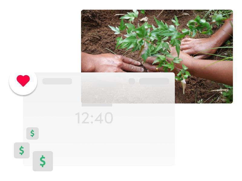 extension de navigateur comme ecosia qui collecte des fonds pour planter des arbres
